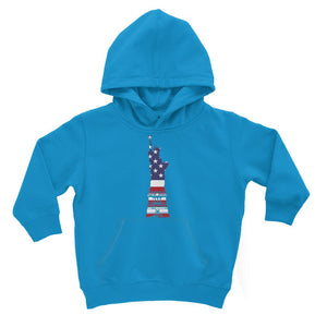 Usa Flag State Of Liberty Kids Hoodie Apparel Flagdesignproducts.com