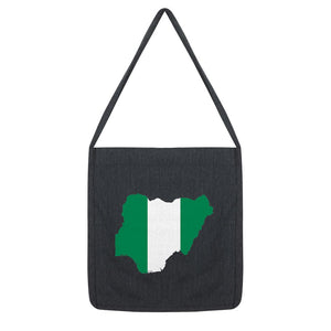 Nigeria Continent Flag Tote Bag Accessories Flagdesignproducts.com