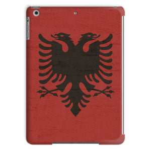 Albania Stone Wall Flag Tablet Case Phone & Cases Flagdesignproducts.com