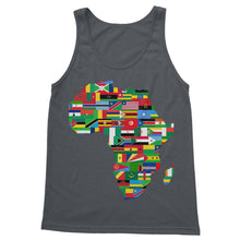 Africa Countries Flag Softstyle Tank Top Apparel Flagdesignproducts.com