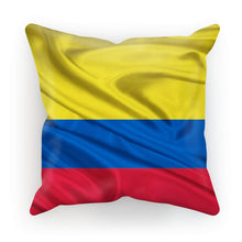 Waving Colombia Fabric Flag Cushion Homeware Flagdesignproducts.com