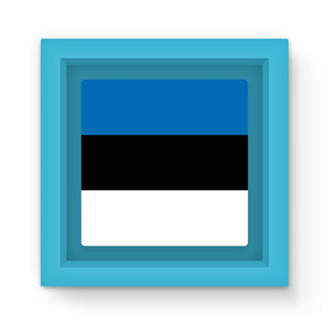 Basic Estonia Flag Magnet Frame Homeware Flagdesignproducts.com
