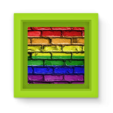 Colorful Lgbt Rainbow Flag Magnet Frame Homeware Flagdesignproducts.com