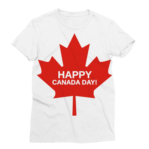 Canada Day Maple Flag Sublimation T-Shirt Apparel Flagdesignproducts.com