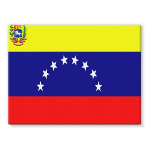 Flag Of Venezuela Stretched Canvas Wall Decor Flagdesignproducts.com
