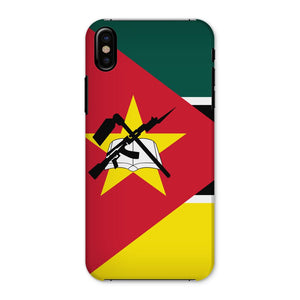 Basic Mozambique Flag Phone Case & Tablet Cases Flagdesignproducts.com