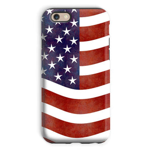 Waving Old Usa Flag Phone Case & Tablet Cases Flagdesignproducts.com