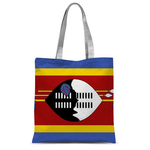 Flag Of Swaziland Sublimation Tote Bag Accessories Flagdesignproducts.com