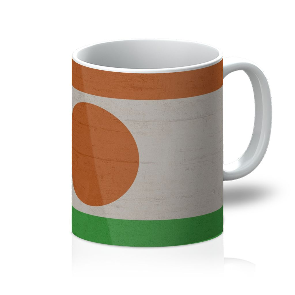 Niger Stone Wall Flag Mug Homeware Flagdesignproducts.com