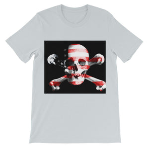 USA Flag Pirate Flag Kids' T-Shirt
