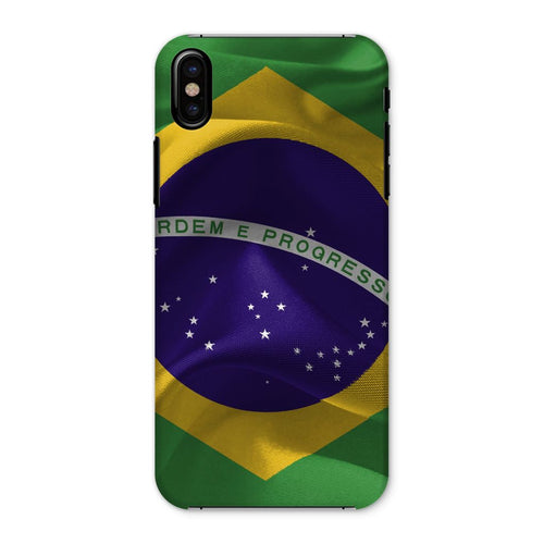 Brazil Waving Fabric Flag Phone Case & Tablet Cases Flagdesignproducts.com