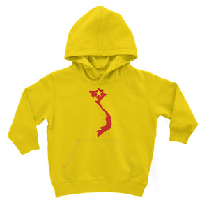 Vietnam Continent Flag Kids Hoodie Apparel Flagdesignproducts.com