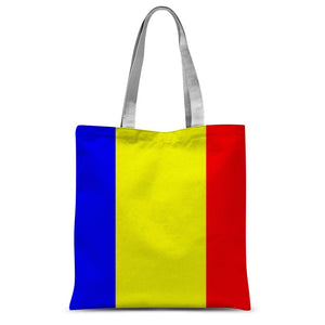 Flag Of Chad Sublimation Tote Bag Accessories Flagdesignproducts.com