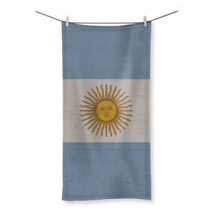 Argentina Stone Wall Flag Beach Towel Homeware Flagdesignproducts.com