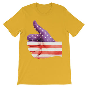 USA Hand And Finger Flag Kids' T-Shirt