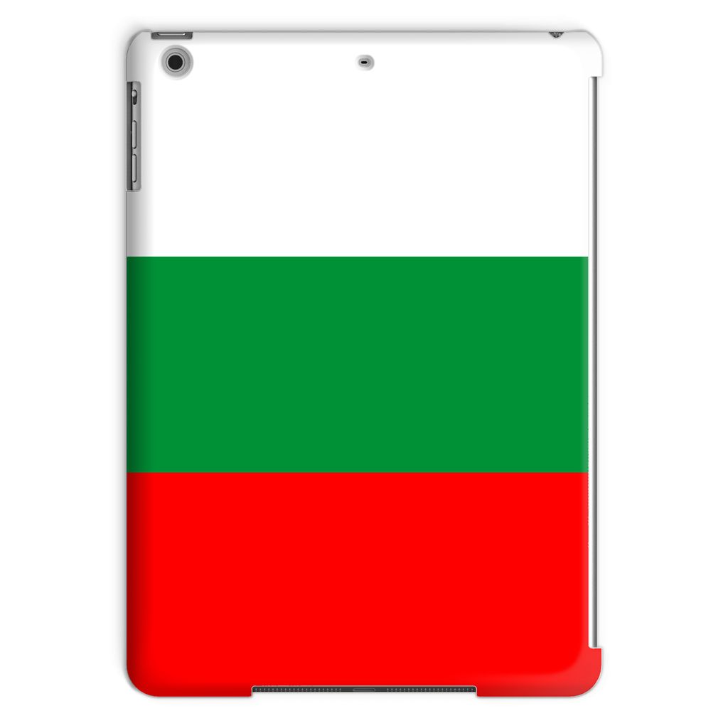 Basic Bulgaria Flag Tablet Case Phone & Cases Flagdesignproducts.com