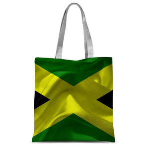 Waving Jamaica Flag Sublimation Tote Bag Accessories Flagdesignproducts.com