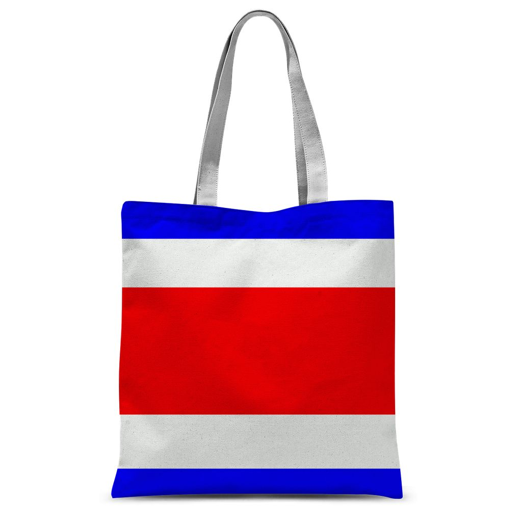 Flag Of Costa Rica Sublimation Tote Bag Accessories Flagdesignproducts.com