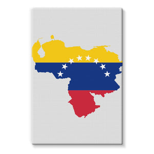 Venezuela Continent Flag Stretched Canvas Wall Decor Flagdesignproducts.com