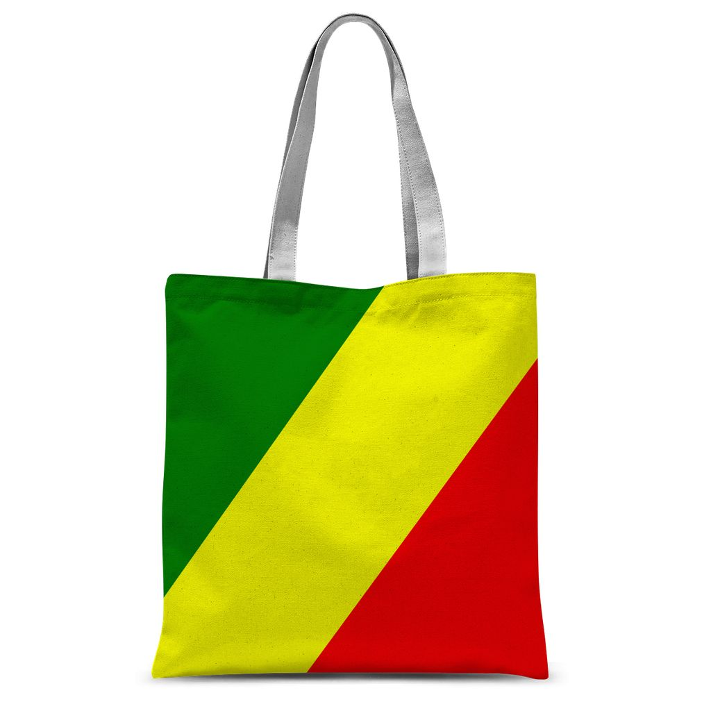 Flag Of The Rep Congo Sublimation Tote Bag Accessories Flagdesignproducts.com