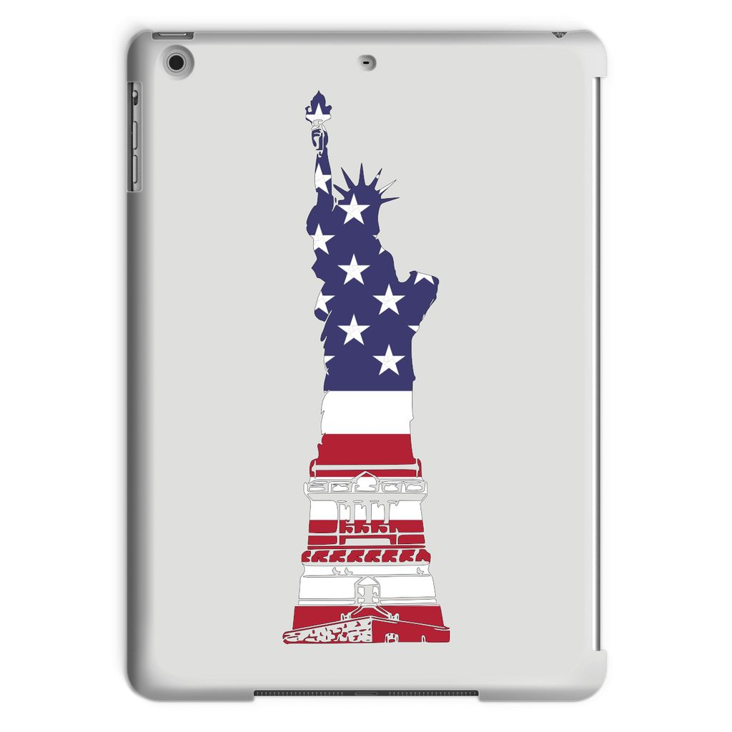 Usa Flag State Of Liberty Tablet Case Phone & Cases Flagdesignproducts.com