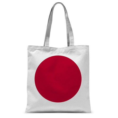 Basic Japan Flag Sublimation Tote Bag Accessories Flagdesignproducts.com
