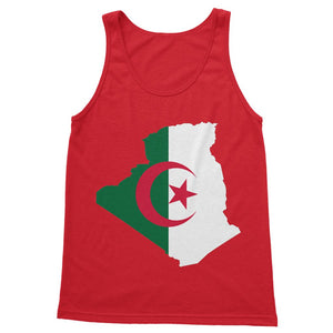 Algeria Continent Flag Softstyle Tank Top Apparel Flagdesignproducts.com