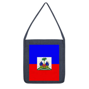 Flag Of Haiti Tote Bag Accessories Flagdesignproducts.com