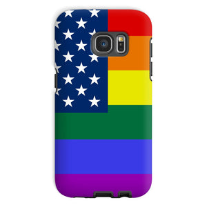 Colorful Usa Rainbow Flag Phone Case & Tablet Cases Flagdesignproducts.com