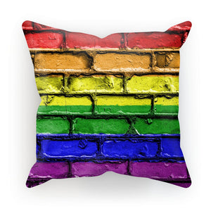 Colorful Lgbt Rainbow Flag Cushion Homeware Flagdesignproducts.com