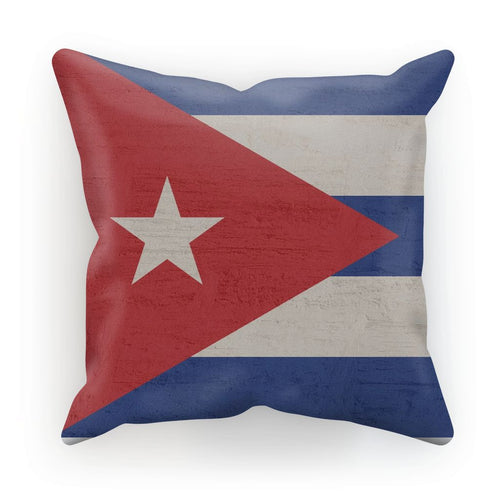 Cuba Stone Wall Flag Cushion Homeware Flagdesignproducts.com