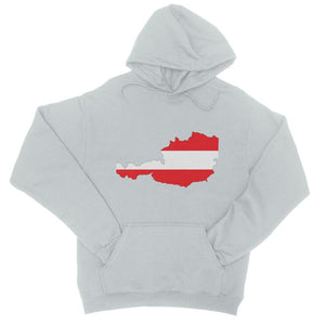 Austria Continent Flag College Hoodie Apparel Flagdesignproducts.com