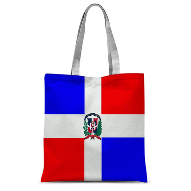 Flag of Dominican Republic Sublimation Tote Bag - FlagDesignProducts