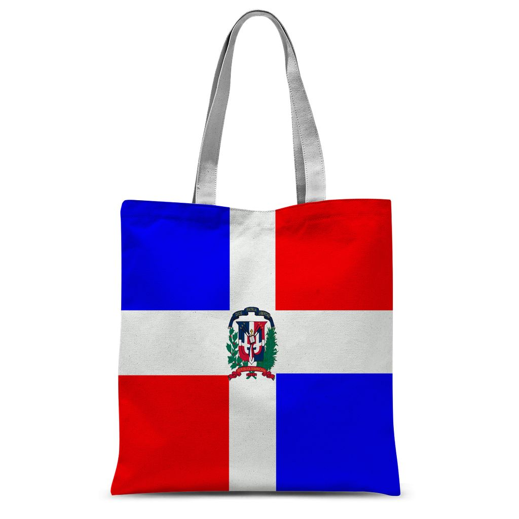 Flag Of Dominican Republic Sublimation Tote Bag Accessories Flagdesignproducts.com
