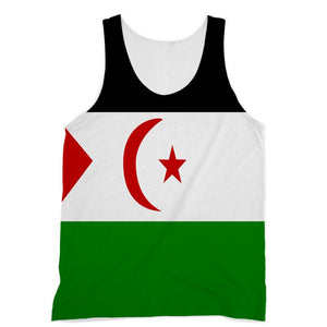 Flag Of Western Sahara Sublimation Vest Apparel Flagdesignproducts.com