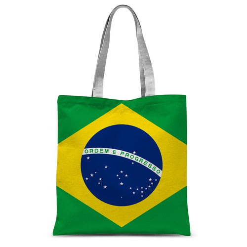 Basic Brazil Flag Sublimation Tote Bag Accessories Flagdesignproducts.com