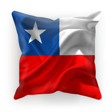 Waving Chile Flag Cushion Homeware Flagdesignproducts.com