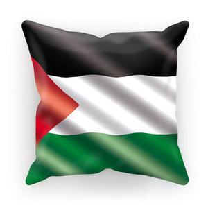 Waving Palestina Flag Cushion Homeware Flagdesignproducts.com