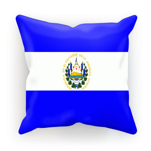 Flag Of El Salvador Cushion Homeware Flagdesignproducts.com