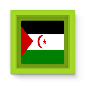 Flag Of Western Sahara Magnet Frame Homeware Flagdesignproducts.com