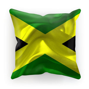 Waving Jamaica Flag Cushion Homeware Flagdesignproducts.com