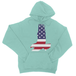 Usa Flag American Eagle College Hoodie Apparel Flagdesignproducts.com