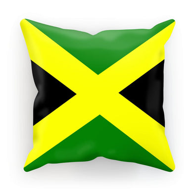 Flag of Jamaica Cushion - FlagDesignProducts