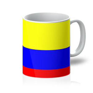 Flag Of Colombia Mug Homeware Flagdesignproducts.com