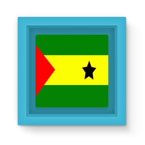 Flag Of São Tomé &principe Magnet Frame Homeware Flagdesignproducts.com