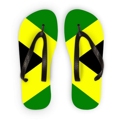 Flag of Jamaica Flip Flops - FlagDesignProducts