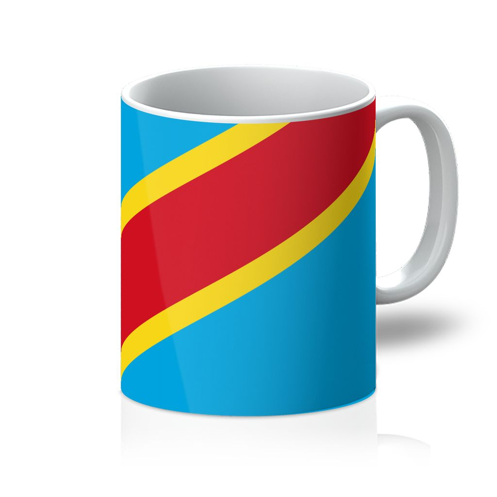 Flag Republic Of Congo Mug Homeware Flagdesignproducts.com
