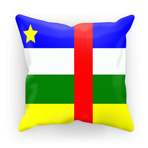 Flag Of Central African Cushion Homeware Flagdesignproducts.com