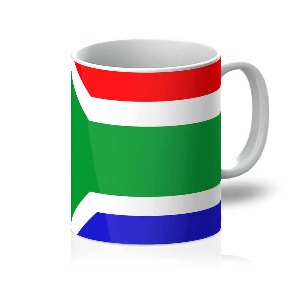 Flag Of South Africa Mug Homeware Flagdesignproducts.com