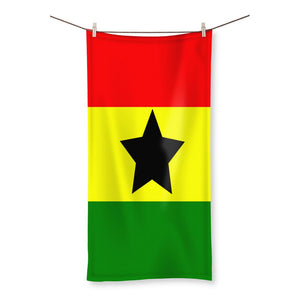 Flag Of Ghana Beach Towel Homeware Flagdesignproducts.com